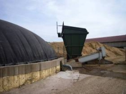Beck biogas plant in Germany