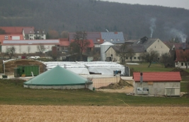 Stiehele biogas plant in Germany